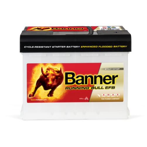 Baterie Auto Banner Running Bull EFB 65 Ah (56511)