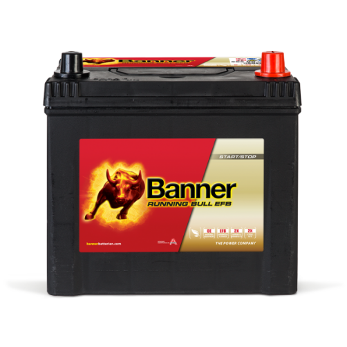 Baterie Auto Banner Running Bull EFB ASIA 65 Ah (56515)