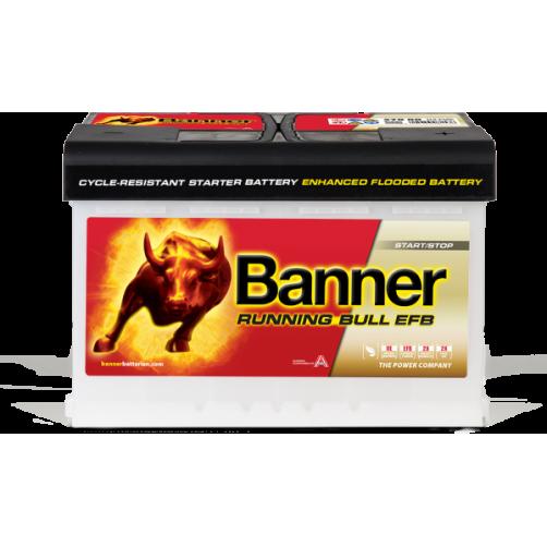 Baterie Auto Banner Running Bull EFB 75 Ah (57511)