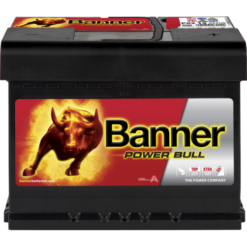 Baterie Auto Banner Power Bull 62 Ah