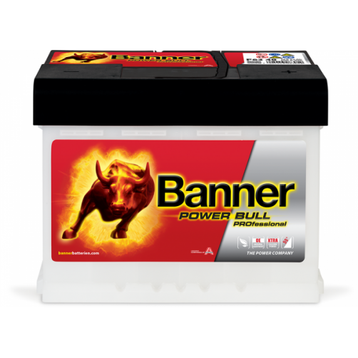 Baterie Auto Banner Power Bull PROfessional 63 Ah (P6340)