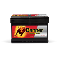 Baterie Auto Banner Power Bull 72 Ah (P7209)