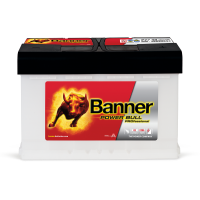 Baterie Auto Banner Power Bull PROfessional 77 Ah