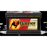 Baterie Auto Banner Running Bull AGM 80 Ah (58001)