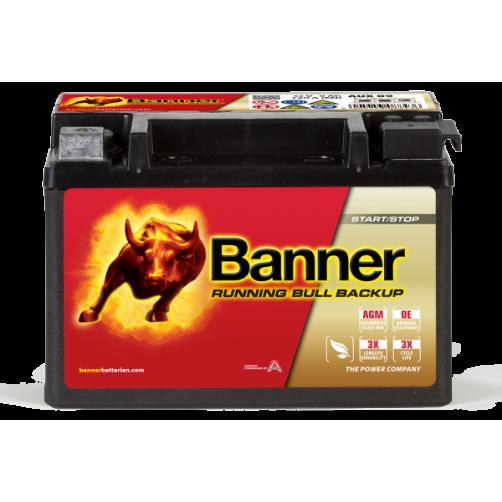 Baterie Auto Banner Running Bull Backup 9 Ah (50900)