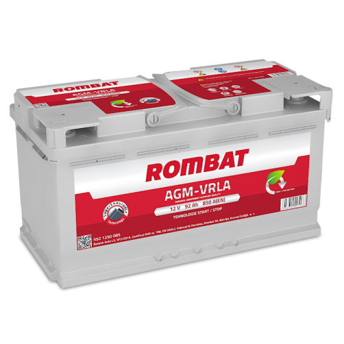 Baterie Auto Rombat AGM 92 Ah