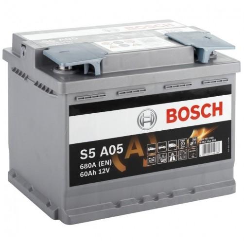 Baterie Auto Bosch S5 AGM 60 Ah (0092S5A050)