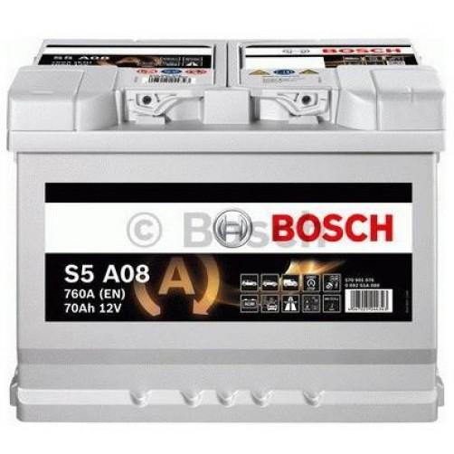 Baterie Auto Bosch S5 AGM 70 Ah (0092S5A080)