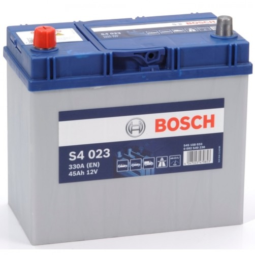 Baterie Auto Bosch S4 45 Ah cu borne inverse (0092S40230)