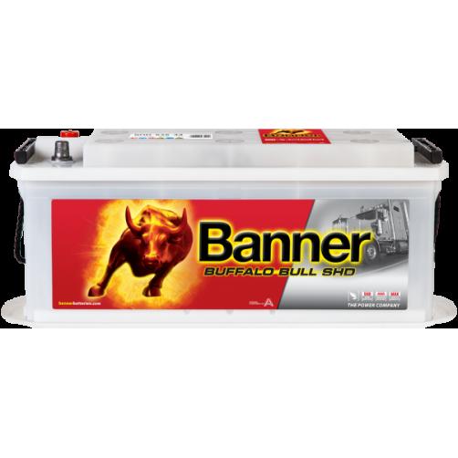 Baterie Auto Banner Buffalo Bull SHD 135 Ah (SHD 63544)