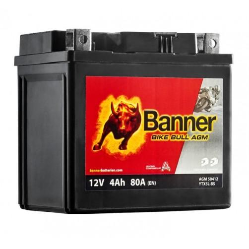 Baterie Moto Banner Bike Bull AGM 4 Ah (YTX5L-BS)