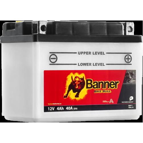 Baterie Moto Banner Bike Bull 4 Ah (YB4L-B)