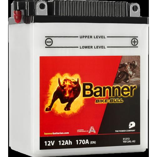 Baterie Moto Banner Bike Bull 12 Ah (YB12AL-A2)