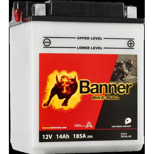 Baterie Moto Banner Bike Bull 14 Ah (YB14L-A2)