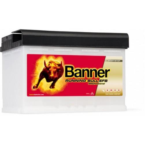 Baterie Auto Banner Running Bull EFB Professional 75 Ah (57511)