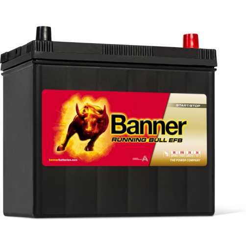 Baterie Auto Banner Running Bull EFB ASIA 55 Ah (55515)