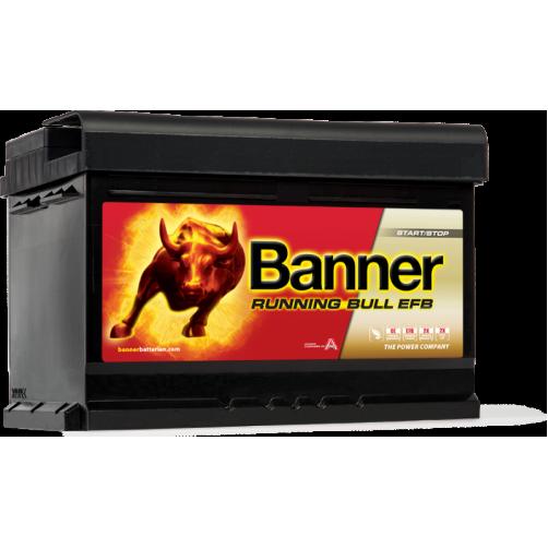 Baterie Auto Banner Running Bull EFB 65 Ah (56512)