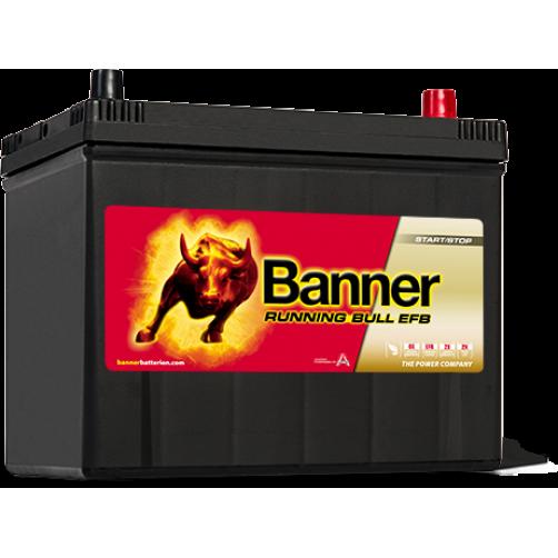 Baterie Auto Banner Running Bull EFB ASIA 70 Ah (57015)