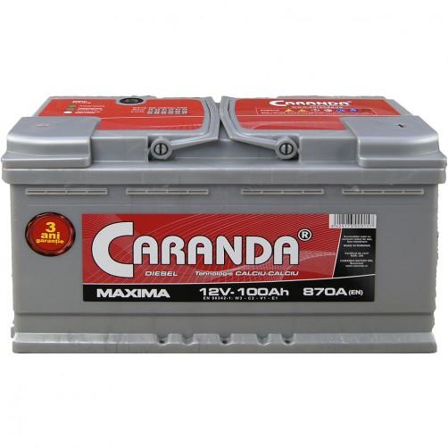 Baterie Auto Caranda Maxima 100 Ah
