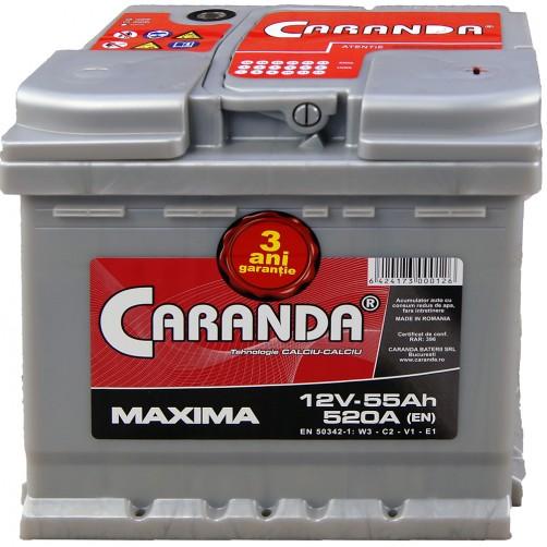 Baterie Auto Caranda Maxima 55 Ah