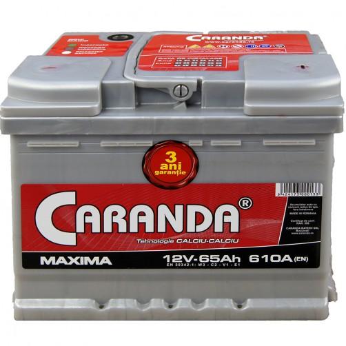 Baterie Auto Caranda Maxima 65 Ah