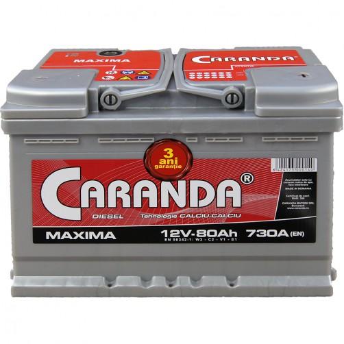 Baterie Auto Caranda Maxima 80 Ah