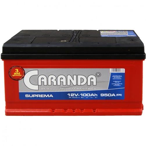 Baterie Auto Caranda Suprema 100 Ah