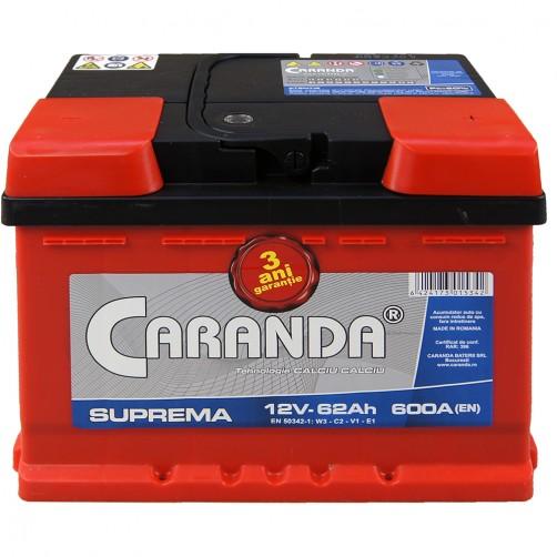 Baterie Auto Caranda Suprema 62 Ah