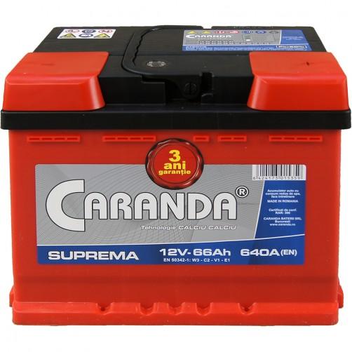 Baterie Auto Caranda Suprema 66 Ah