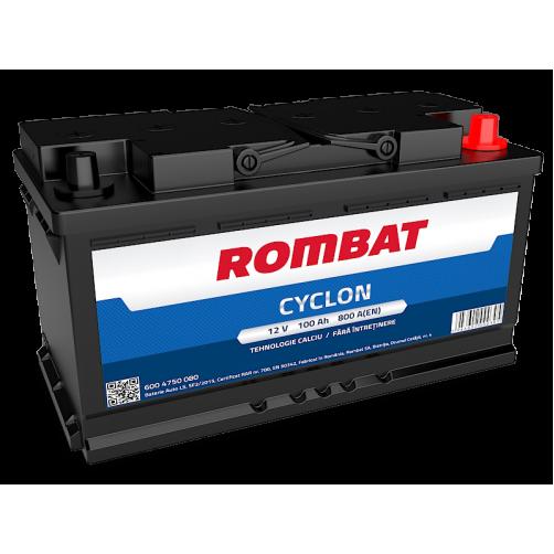 Baterie Auto Rombat Cyclon 100 Ah