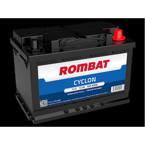 Baterie Auto Rombat Cyclon 72 Ah