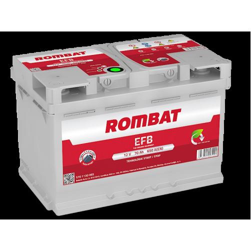 Baterie Auto Rombat EFB 70 Ah