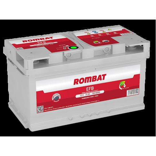 Baterie Auto Rombat EFB 75 Ah