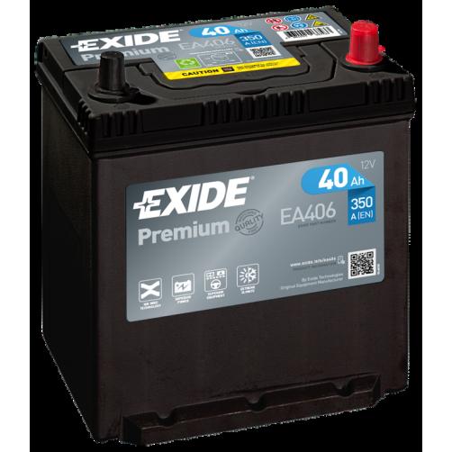 Baterie Auto Exide Premium 40 Ah (EA406)