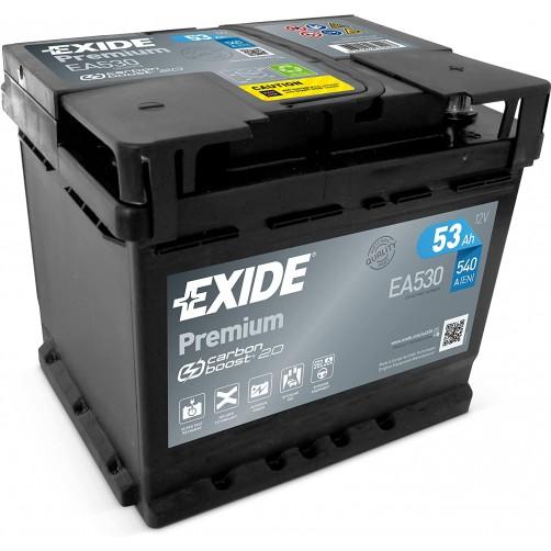 Baterie Auto Exide Premium 53 Ah (EA530)