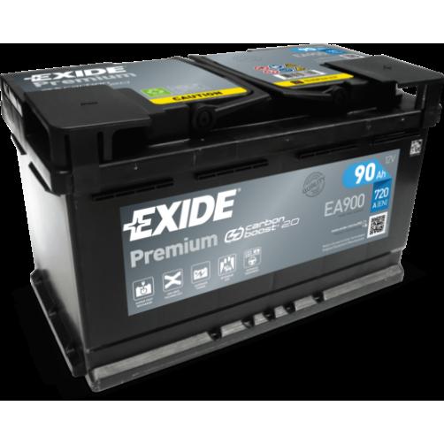 Baterie Auto Exide Premium 90 Ah (EA900)