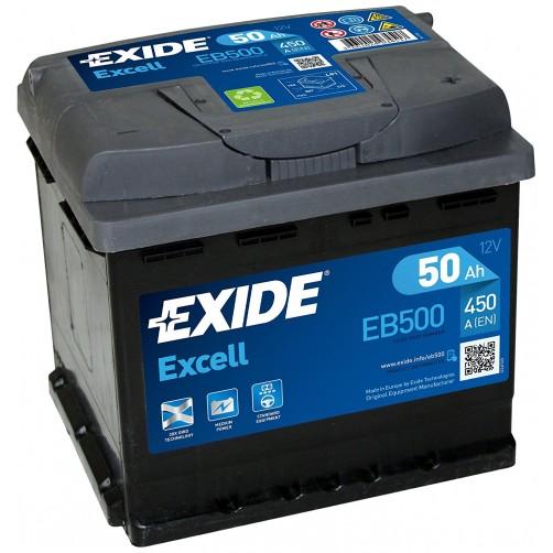 Baterie Auto Exide Excell 50 Ah (EB500)
