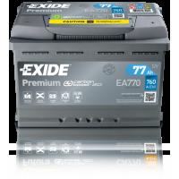 Baterie Auto Exide Premium 77 Ah (EA770)