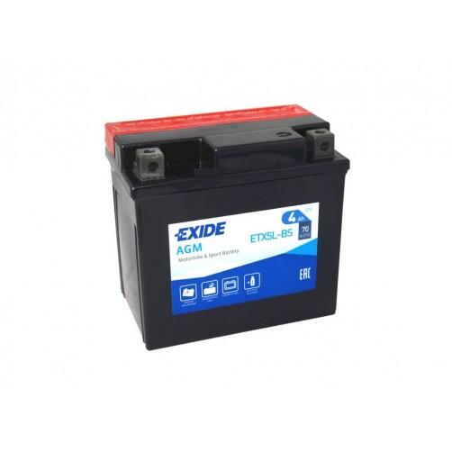Baterie Moto Exide Bike AGM 4 Ah (ETX5L-BS)