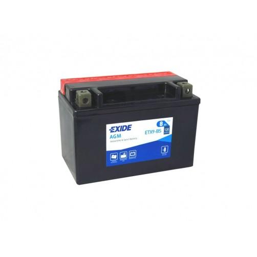 Baterie Moto Exide Bike AGM 8 Ah (ETX9-BS)