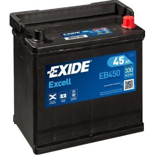 Baterie Auto Exide Excell 45 Ah (EB450)