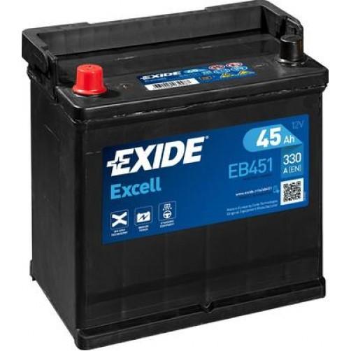 Baterie Auto Exide Excell 45 Ah (EB451)