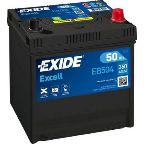 Baterie Auto Exide Excell 50 Ah (EB504)