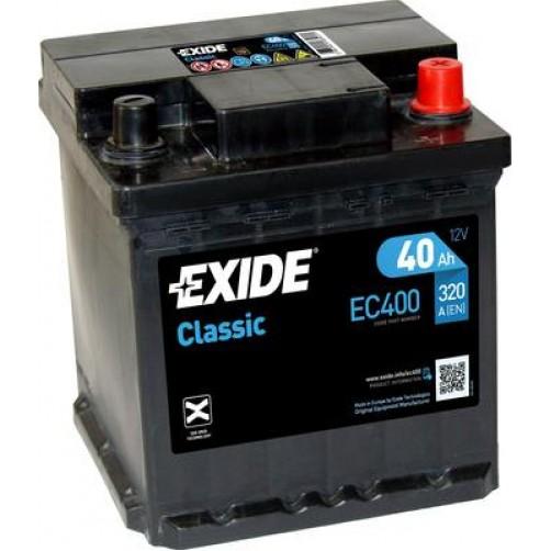 Baterie Auto Exide Classic 40 Ah (EC400)