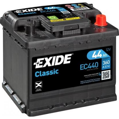 Baterie Auto Exide Classic 44 Ah (EC440)