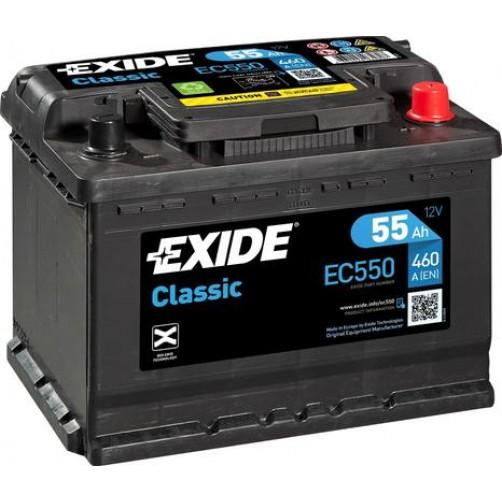 Baterie Auto Exide Classic 55 Ah (EC550)