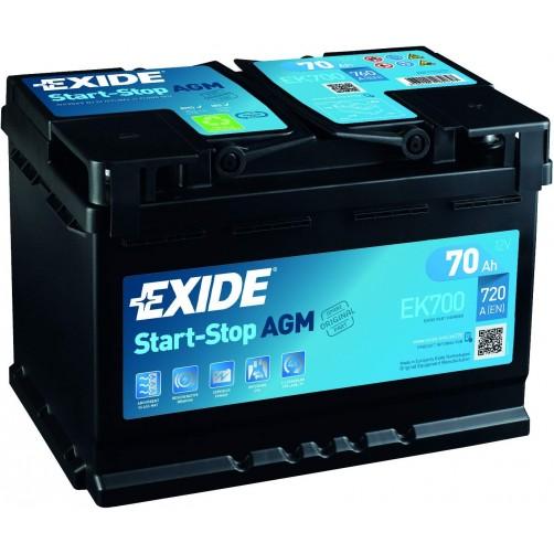 Baterie Auto Exide AGM 70 Ah