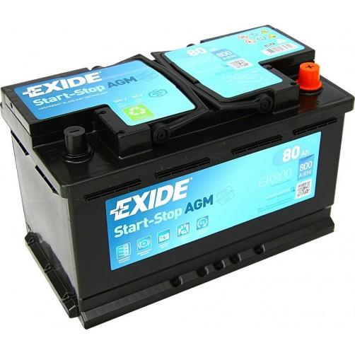 Baterie Auto Exide AGM 80 Ah
