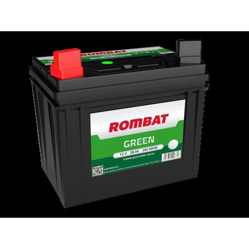 Baterie Motocultor Rombat Green 28 Ah cu borne inverse