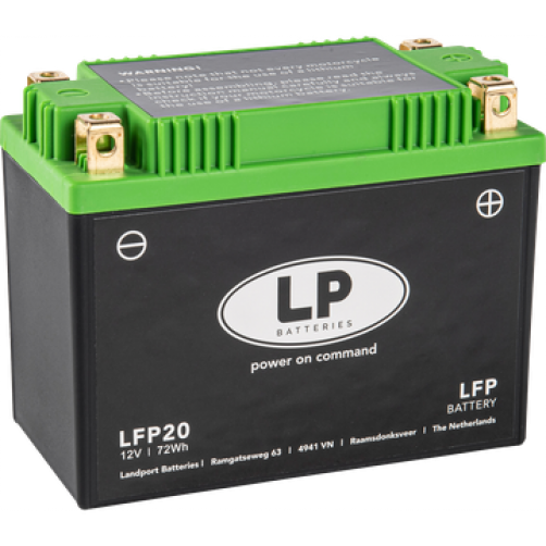 Baterie Moto Landport Litiu 6 Ah (72 Wh)